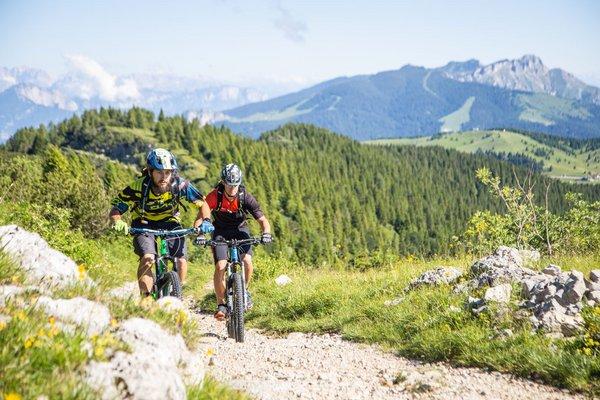 Mountainbike Tour Monte Maggio, Alpe Cimbra (c) Gober