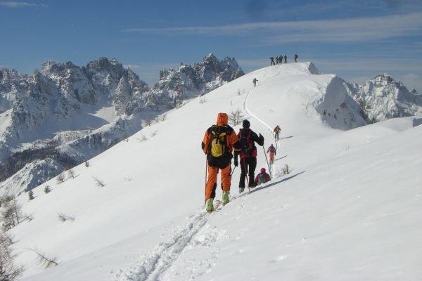 Skitour in den Friulanischen Dolomiten