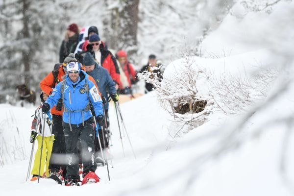 Geführte Schneeschuhwanderun in Moena (c) visitmoena.it