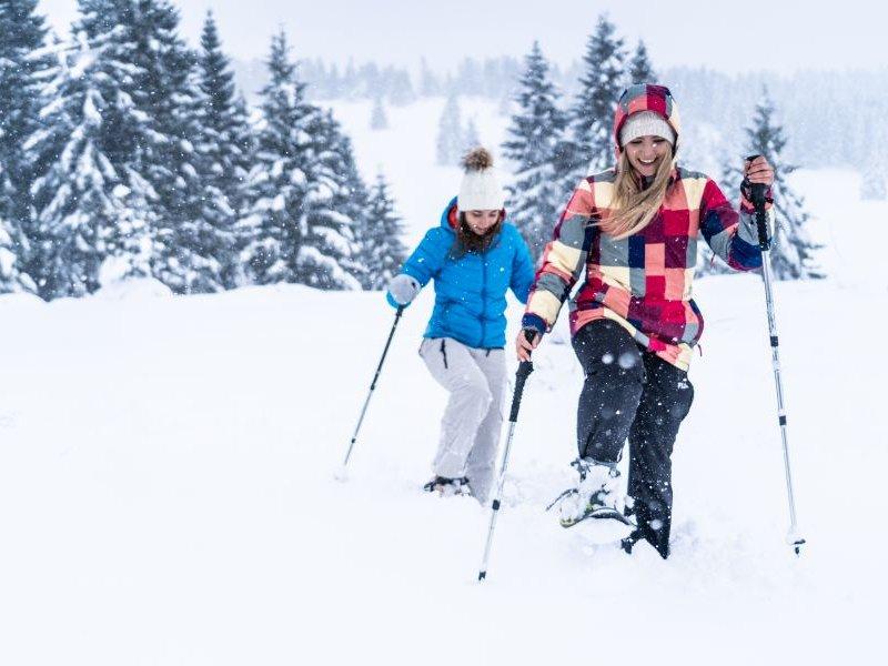 Schneeschuhwanderung Luserna (c) Gober
