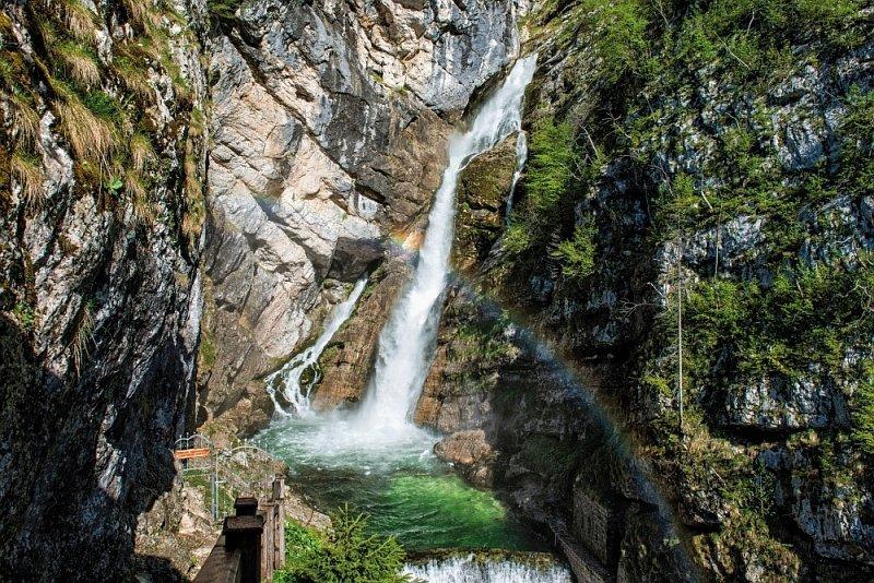 Savica Wasserfälle
