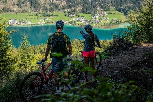 Mountainbiken am Weissensee (c) Dietmar Denger