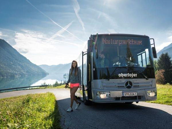 Naturparkbus Weissensee (c) Dietmar Denger