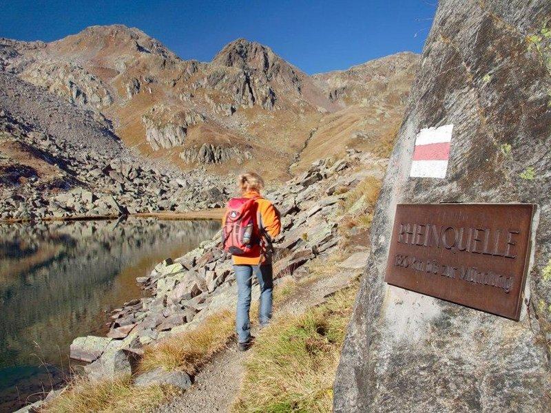 Wanderung Rheinquelle