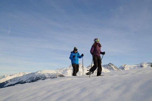 Schneeschuhwanderung Disentis