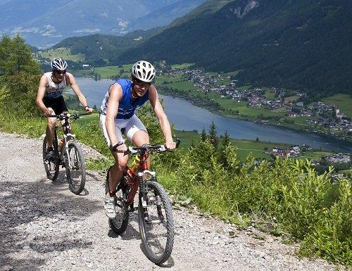 Mountainbiken am Weissensee