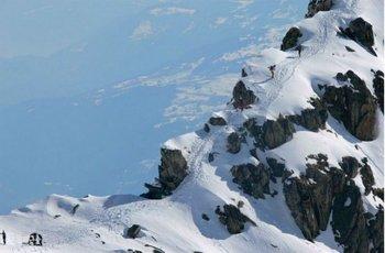 Skitourenrennen Trofea Péz Ault Disentis