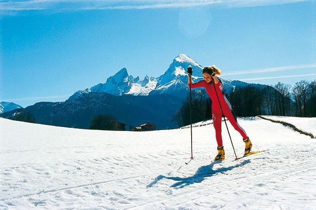 Langlaufen Berchtesgadener Land