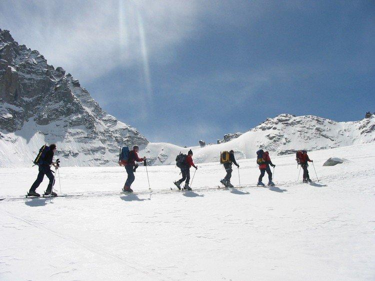 Gruppen skitour