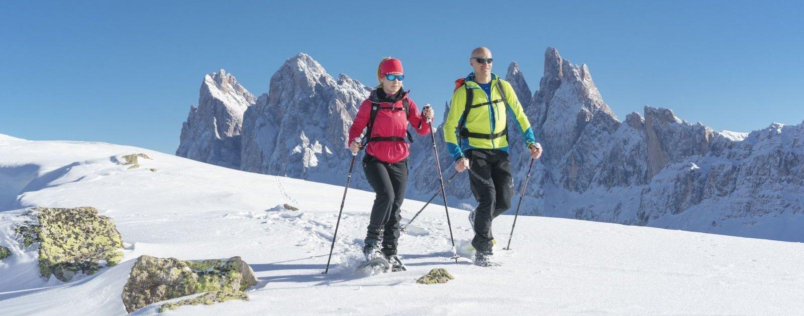 Schneeschuhwandern im Villnoesser Tal (c) Dietmar Denger