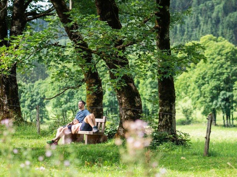 Enthasten im Urlaub in Werfenweng (c) Dietmar Denger