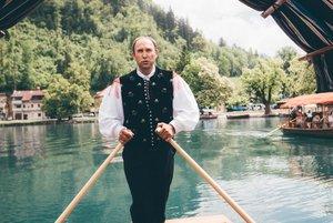 Gregor Pazlar Pletna Schiffer in Bled