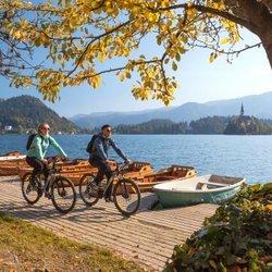Mit dem Fahrrad um den Bleder See (c) Jost Gantar VELIKA