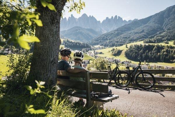 Biken in Villnoess (c) Alex Moling