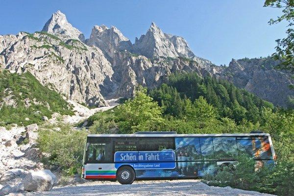 Wanderbus im Berchtesgadener Land