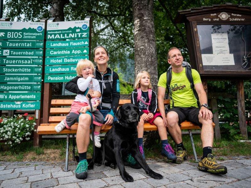 Familienwanderung Mallnitz (c) Dietmar Denger