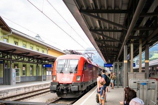 Bahnhof Bischofshofen (c) Dietmar Denger