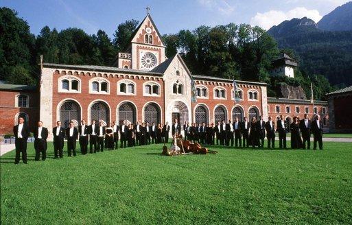 Philharmonie Bad Reichenhall vor der Alten Saline