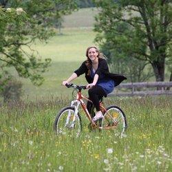 Autofasten Radfahren Werfernweng