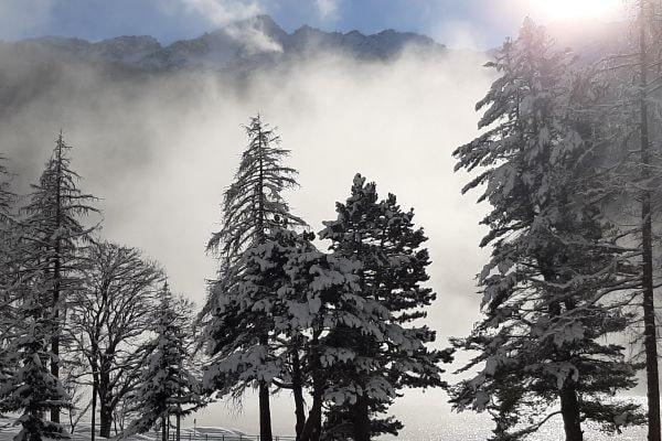 Winterlandschaft in Ceresole Reale (c) Alessandra Masino