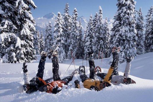 Schneeschuhtour Disentis