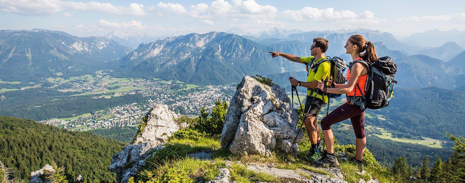 Wandern Hochstaufen Alpenstadt
