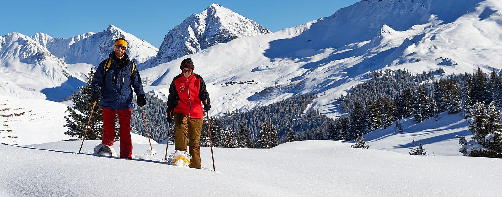 Schneschuhwandern Prätschalp