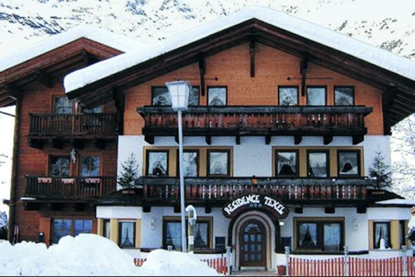 Residence Texel Pfelders im Winter