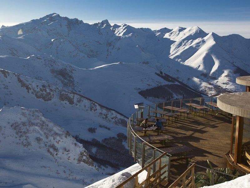 Panorama von der Skiterasse