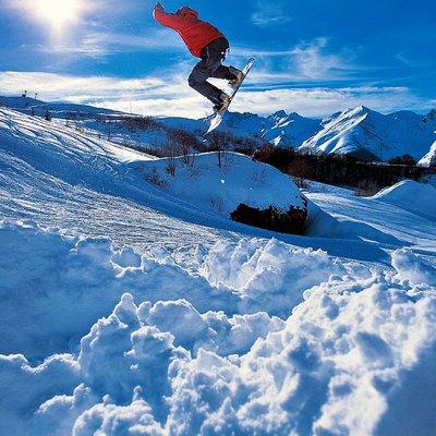 Wintersport im Riserva Bianca