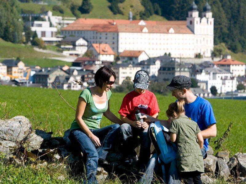 Wandern mit Kindern in Disentis