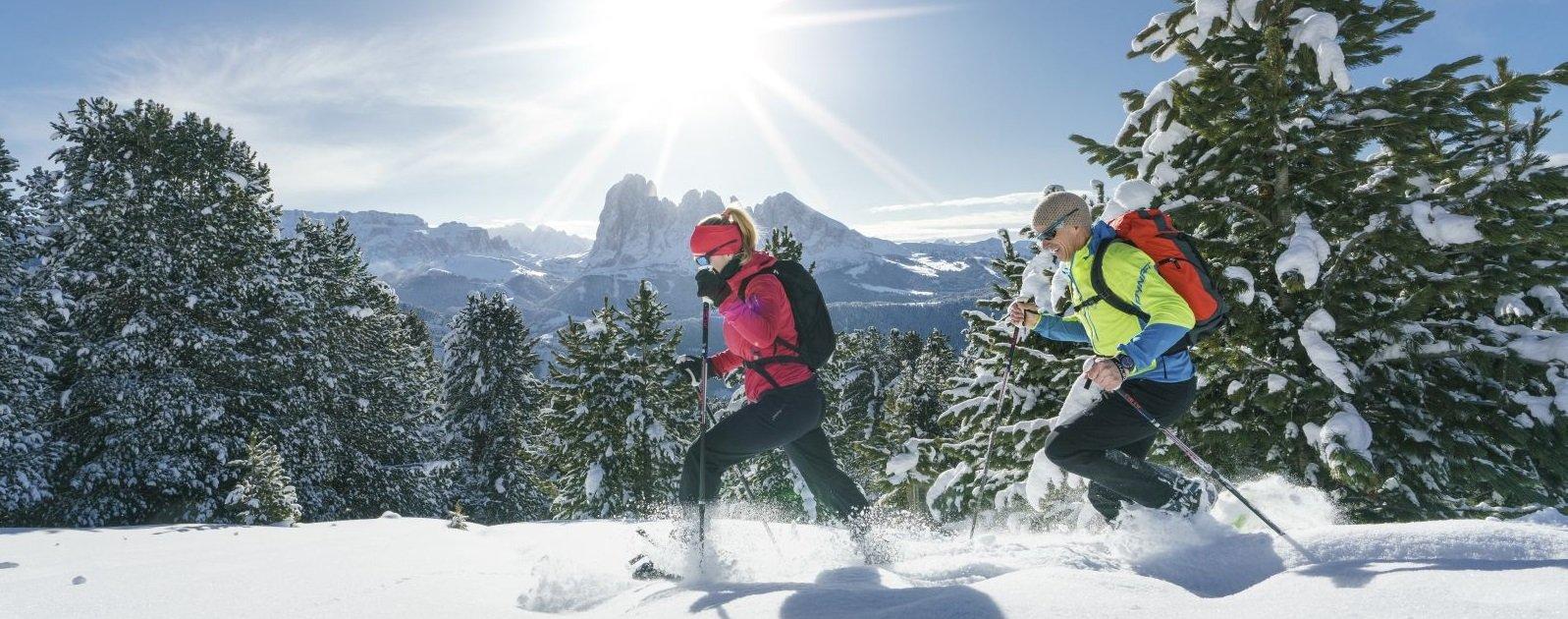 Schneeschuhwandern in Villnoess (c) Dietmar Denger