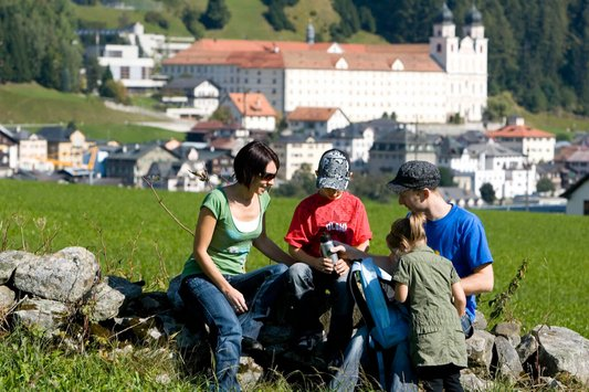 Familienwanderung Disentis
