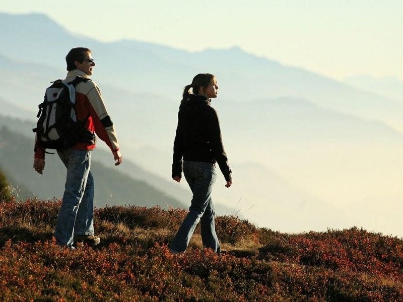 Herbstwandern in Disentis