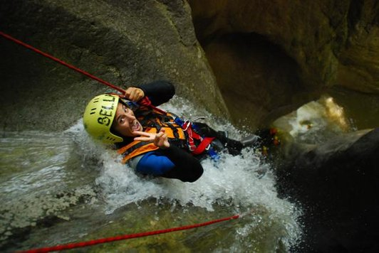 Canyoning a Interlaken