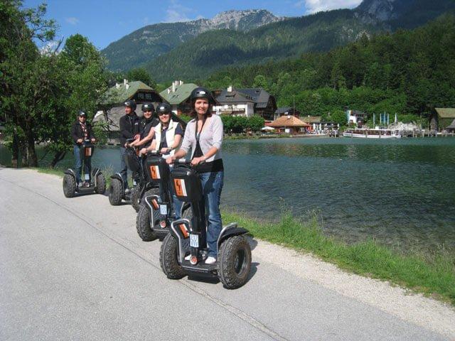 Segway fahren am Königssee