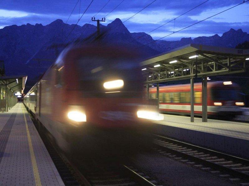 sanft- mobil reisen mit der Bahn
