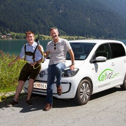 VW E-Up in Weissensee