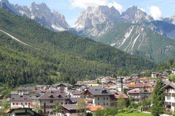 Blick auf Forni di Sopra