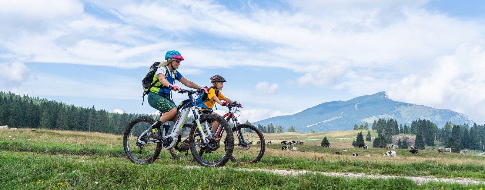E-Bike Urlaub Alpe Cimbra (c) Gober