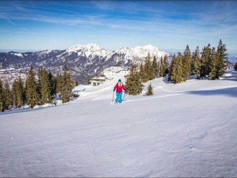 Schneeschuhwandern in Bad Reichenhall (c) Berchtesgadener Land Tourismus GmbH