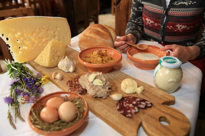 Regionale Kulinarik in Bohinj