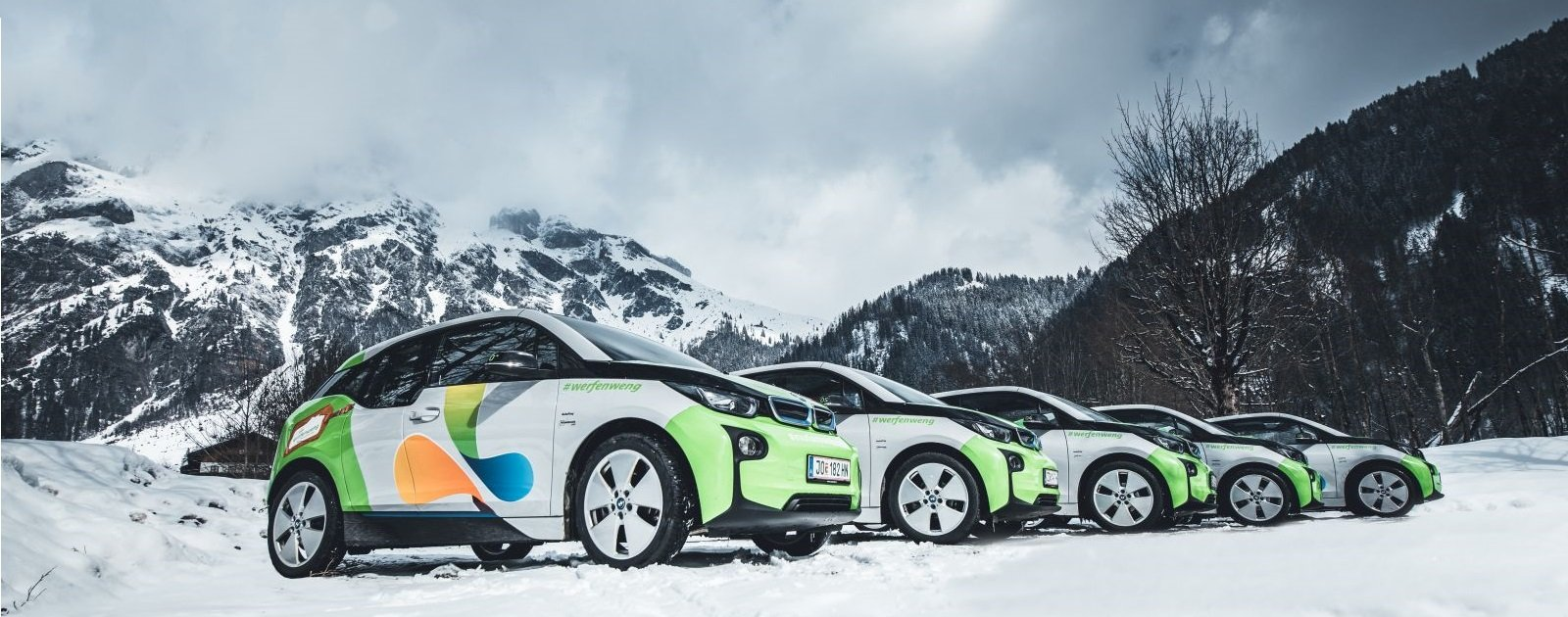 BMW i3 in Werfenweng (c) Christian Schartner