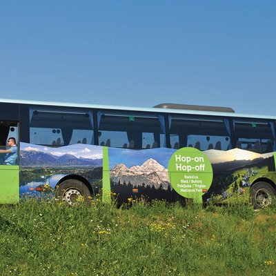 Hop-on/Hop-off Bus Bled Bohinj