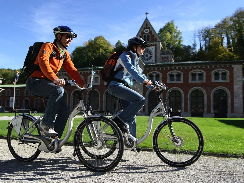 Radfahrer Berchtesgaden