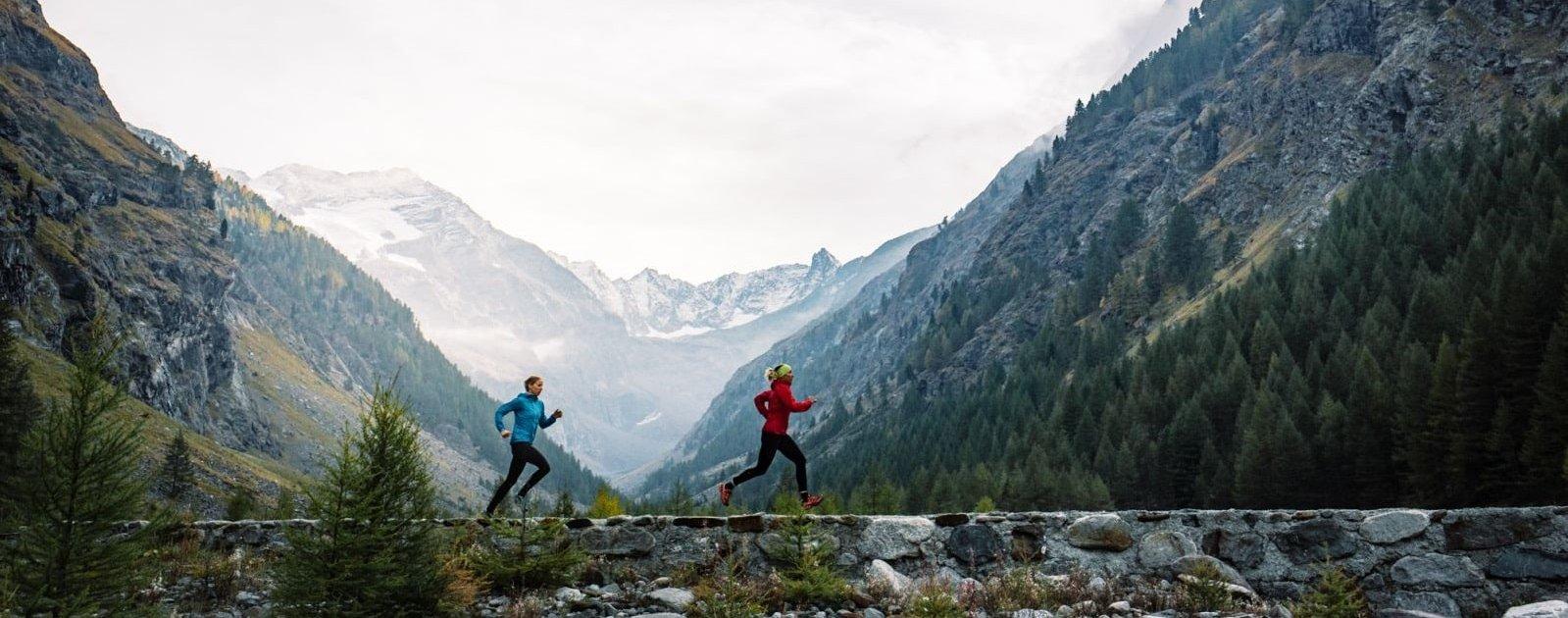 Running in Cogne (c) Franz Walter