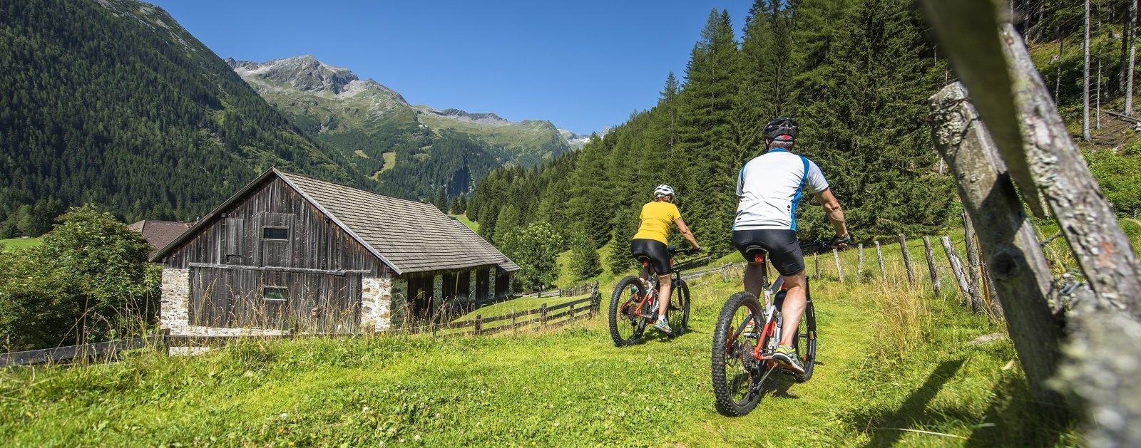 Mountainbiken in Mallnitz (c) Dietmar Denger