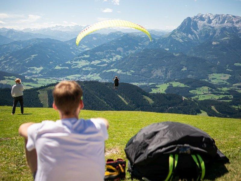 Paragliden Bischlinghoehe Werfenweng