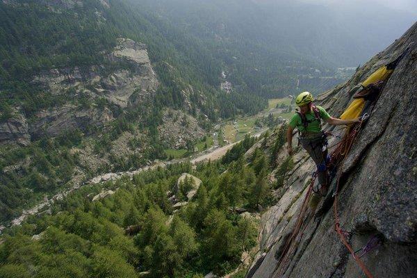 Klettern in Ceresole Reale