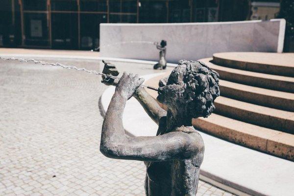 Skulptur Kurgarten Bad Reichenhall